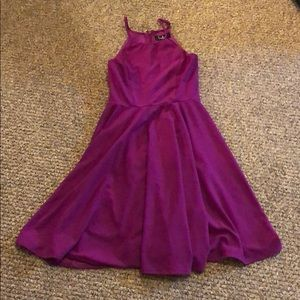 Lulu's Dresses - Lulus Purple Skater Dress